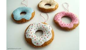 tutorial sprinkle donut ornament sewing