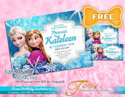 free printable frozen birthday invitations image collections