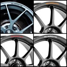 audi decals x8 audi quattro rims alloy wheel decals stickers graphics kit