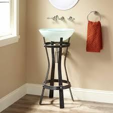 marius wrought iron sink stand bathroom