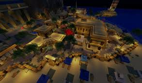 Pleasant Beach Village by Ivory Beach Resort Minecraft Project