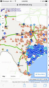 New Mexico Road Closures Map by Harvey Flooding Is