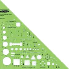 Interior Design Drafting Templates by Rapidesign Templates