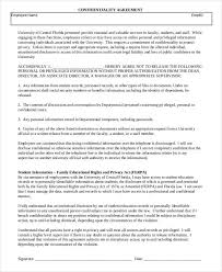 hr agreement templates 6 free word pdf format download free