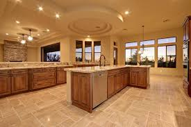 Travertine Kitchen Floor by Craftsman Kitchen With Pendant Light U0026 Chandelier In Scottsdale