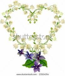 lilly of the valley heart tattoo idea may birth flower i heart
