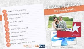 Wedding Gift For Bride Top 10 Wedding Gift Cards To Buy For Newlyweds Gcg