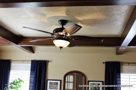 Hunter 54 Ceiling Fan by Our Adventures In Home Improvement My New Hunter Fan And A Room