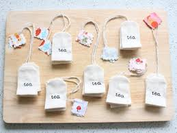 tea bag party favors pretend teabags party favors inhabitots