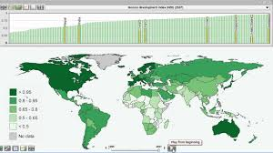 Interactive Maps Visualization Of Human Development Index Interactive Maps
