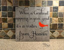 personalized in memory of gifts in loving memory gift when a cardinal appears in loving memory