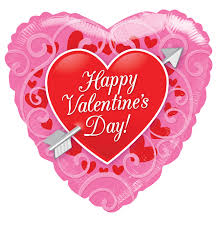 valentines day balloons wholesale 81175 18 happy s day heart with arrow balloon