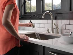 Pacific Sales Kitchen Faucets Delta 16970 Sssd Dst Single Handle Pull Down Kitchen Faucet With