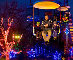 Amish Christmas Lights Dutch Winter Wonderland At Dutch Wonderland In Lancaster Pa