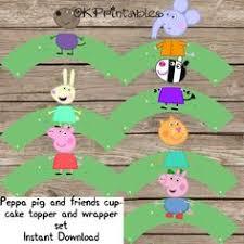 peppa pig iron birthday boy instant download george pig