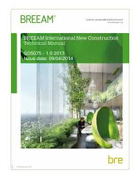 breeam international nc 2013 1 0 energy and resource nature