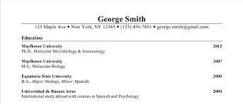 listing education on resume examples resume peppapp