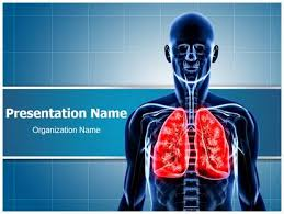 powerpoint design lungs human lungs powerpoint template background subscriptiontemplates com
