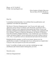 Cover Letter For Political Internship Cover Letter Motivation Letter Gallery Cover Letter Ideas