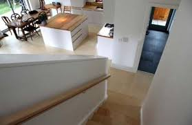 grand designs suffolk view down to kitchen love the island