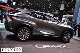 lexus crossover 2013 frankfurt 2013 lexus lf nx crossover concept motoring middle