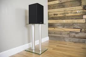 Bookshelf Speaker Shelves Stand Sp01s Vivo Premium Universal Floor Speaker Stands Dual