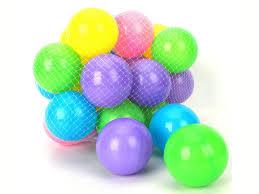 100 pcs colorful soft plastic balls tent swim pit toys