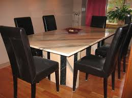 marble dining room table and chairs creative marble dining room table ideas klubicko org