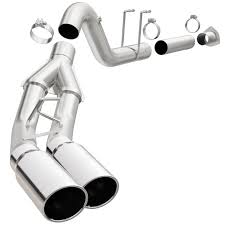 Ford Diesel Truck Exhaust Systems - cat back diesel alum hp exhaust authorized retailer of
