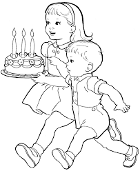 birthday boy coloring pages baby boy coloring pages getcoloringpages com