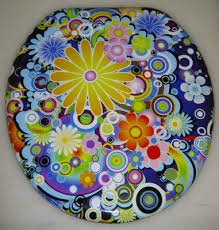 Decorated Toilet Seats and Toilet Covers for personal or business use