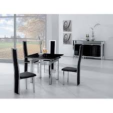 Black Glass Extending Dining Table Stunning Black Glass Extending Dining Table Mini Black Glass