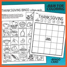 thanksgiving bingo activity with bonus rewards cards by prime and pi