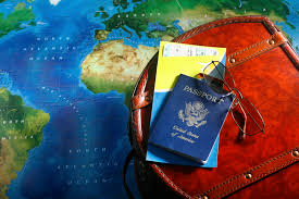 Personal World Map by Travel Passport With Bag And World Map Photo And Desktop Wallpaper