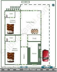 2 Bedroom House Plans Vastu South Facing Home Vastu Plan Subhavaastu Com
