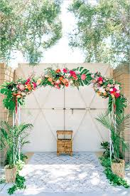 wedding arches meaning tropical wedding floral wedding arch and floral