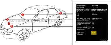 porsche paint code locations touch up paint automotivetouchup