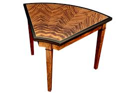 wedge shaped end table furniture wedge end table phillips collection shaped black with
