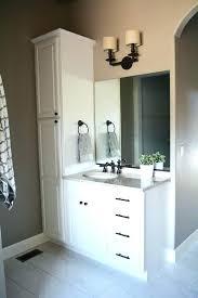 Bathroom Vanity Cabinet Sets Excellent Bathroom Vanity Linen Cabinet Bathroom Linen Cabinets