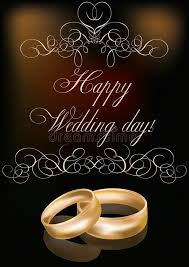 happy wedding day happy wedding day card royalty free stock image image 37524406