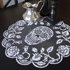 halloween lace tablecloth table archives my sugar skulls