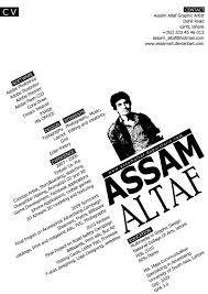 Creative Graphic Design Resume Samples My Graphic Design Cv By Assamart On Deviantart Design