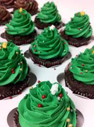 christmas tree cupcakes lolo u0027s cakes u0026 sweets