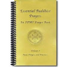 prayer book buddhist prayers vol i