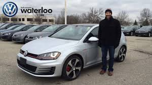 silver volkswagen 2016 vw gti review in reflex silver at volkswagen waterloo with