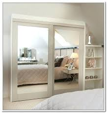 Closet Sliding Doors Mirrored Sliding Closet Doors Moutard Co