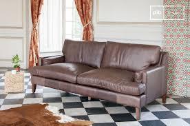 rembourrage canapé cuir grand canapé cuir sanary format large et confort pib