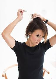 yolanda foster hair tutorial everyday hair tutorial for short no part hair one little momma