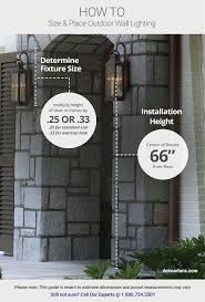 Installing A Wall Sconce Outdoor Lighting Ideas U0026 Tips Add Curb Appeal With Front Door