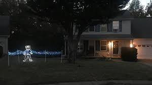 christmas lights simpsonville sc red green and blue upstate man creates christmas caign to t